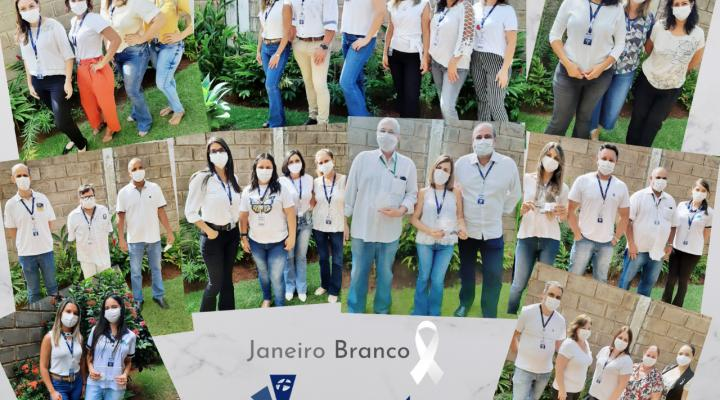 Equipe Faepu celebra o Janeiro Branco
